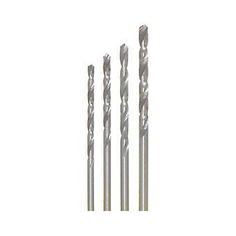 4 x HSS drill bit Ø 0.4 - 0.6 - 0.8-1.0 mm in SB can