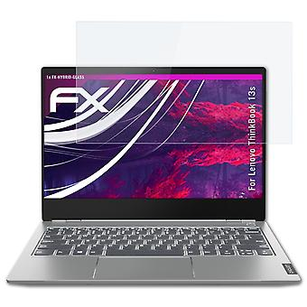 atFoliX Glass Protector compatible with Lenovo ThinkBook 13s Glass Protective Film 9H Hybrid-Glass
