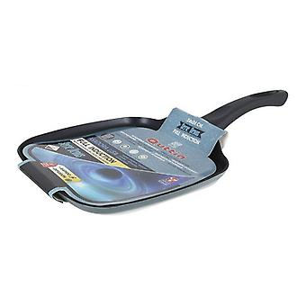 Non-stick frying pan Venus Quttin Soft Touch Toughened aluminium Metallic (24 X 24 x 1,6 cm)