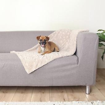 Trixie одеяло Мягкий бежевый (собаки, постельное белье, одеяла, коврики)