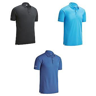 Callaway Denim Jacquard Polo T Shirt