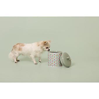 Cath Kidston Provence Rose Ceramic Dog Treat Jar