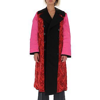 Junya Watanabe Jdc0240511 Women-apos;s Multicolor Wool Coat