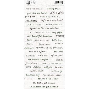 Piatek13 - Folha de adesivotruly Yours 01 P13-TRU-11 10.5x23 cm