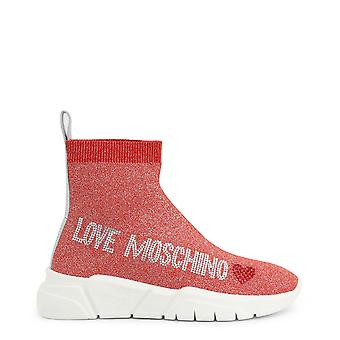 Love Moschino Original Women Spring/Summer Sneakers Red Color - 72718