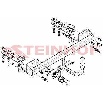 Steinhof Towbar (fikser 2 bolter) for Subaru LEGACY V Estate 2009-2014