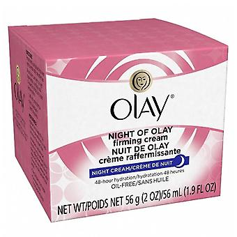 Olay night of olay firming cream, night cream, 2 oz
