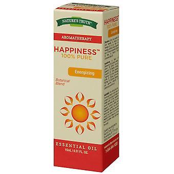 Naturens sannheten aromaterapi essensielle oljen blanding, lykke, 0,51 oz