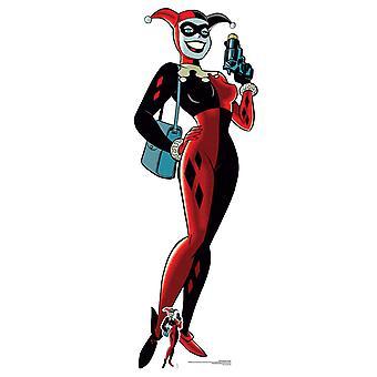 Harley Quinn with Gun Official DC Comics Lifesize Cardboard Cutout / Standee