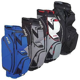 Ping Collection Mens Pioneer Golf Durable 15 Way Top Ripatop Cart Bag