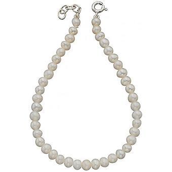 Beginnings Freshwater Pearl Bracelet - White/Silver
