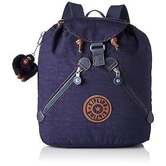 Kipling Bustling Backpack - 32 cm - 13 liters - Blue (Blue Tan Block)