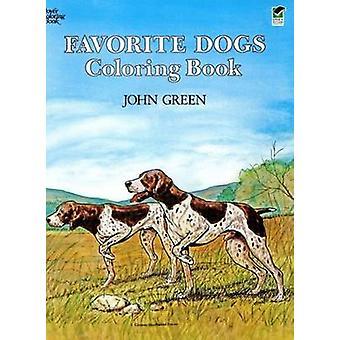 Favorite Dogs Coloring Book by John Green - Soren Robertson - 9780486
