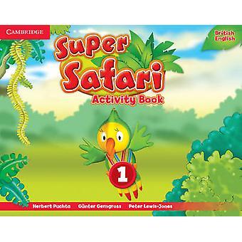 Super Safari Taso 1 Toimintakirja Herbert Puchta - 9781107476691