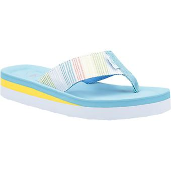 Rocket Dog Womens Winnaar Ravi Flip Flop Yellow Multi