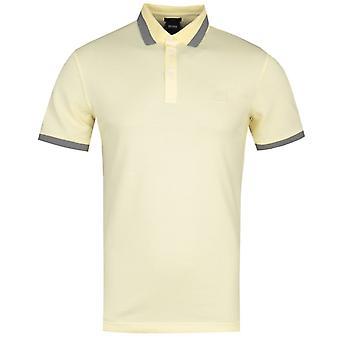 BOSS Ptrans Slim Fit Grey Polo Shirt
