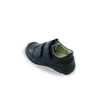Noel everas buffer black school shoe