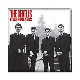 The Beatles Fridge Magnet In Liverpool 1962 new Official 76mm x 76mm