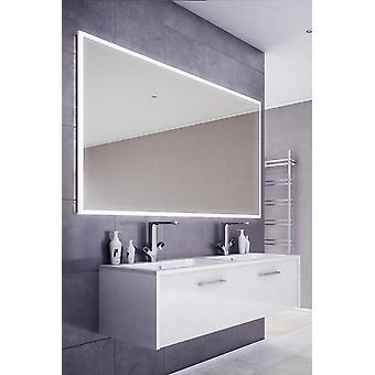 Espejo de baño de borde delgado de audio con Bluetooth y sensor k718aud
