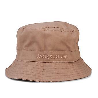 Accessories Jack Jones Mason Bucket Hat in Cream