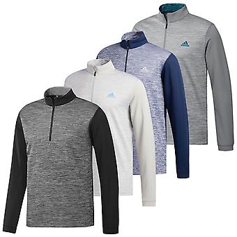 adidas Golf Mens 2020 ADI Core 1/4 Zip Layer Long Sleeve Sweater