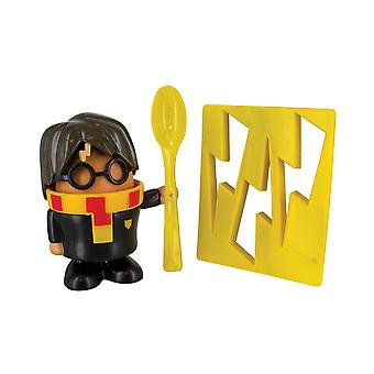 Harry Potter Egg Cup y Toast Cutter Kitchen Breakfast Set