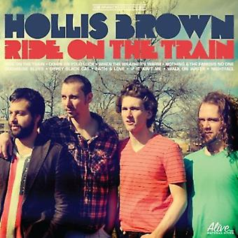 Hollis Brown - rit op de trein [CD] USA importeren