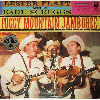 Flatt, Lester/Scruggs, Earl - Foggy Mountain Jamboree [Vinyl] USA import