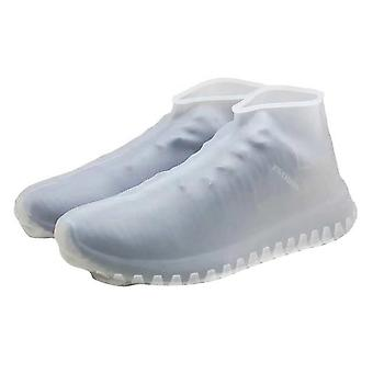 Reusable Silicone, Dustproof Rain Cover, Winter Step In Shoe Waterproof Shoe