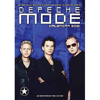 Depeche Mode Calendar 2021 Tribute Calendar DIN A3, wall calendar 2021, 12 months, original English version.