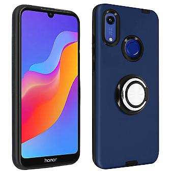 Back cover Honor 8A and Huawei Y6 2019/Y6S Anti-shock Support ring Dark blue