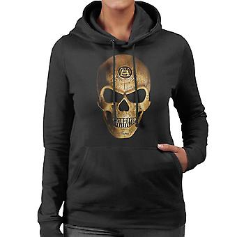 Alchemy Omega Skull mulheres ' s camisola com capuz