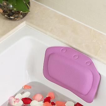 Hotel Home Neck Support Soft PVC Schwamm Entspannung Kopfstütze Badekissen - Salon Sauna Raum PVC Schulterschaum Füllung für Badewanne