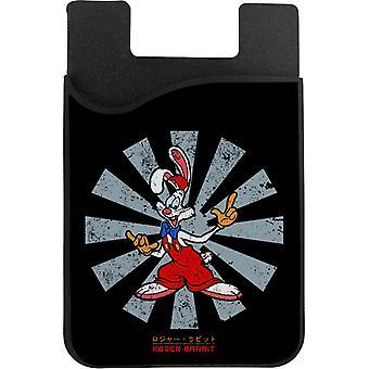 Kuka kehystetty Roger Rabbit Retro Japanilainen puhelinkortin haltija