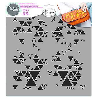 Stencil textile Aladine Géométrique 2