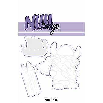NHH Design Warrior Viking Die
