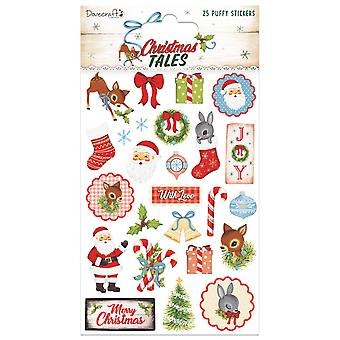 Dovecraft Christmas Tales Puffy Stickers (25pcs) (DCSTK088X19)