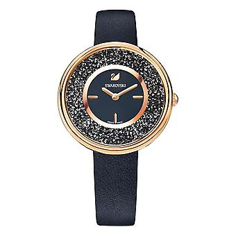 Swarovski 5275043 Crystalline Pure Black Ladies Watch