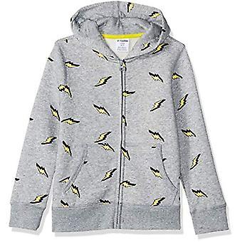 Brand - Spotted Zebra Toddler Fleece Zip-Up Hoodies, Lightning Bolt, 3T