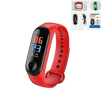 Continuous Heart Rate Monitor Smart Bracelet - Touch Screen Fitness Tracker Wristband
