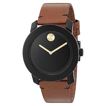 Movado Men's Bold Black Dial Watch - 3600305
