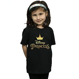 Disney Girls Princess Crown Logo T-paita