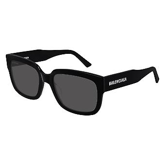 Balenciaga BB0049S 001 Black/Grey Sunglasses