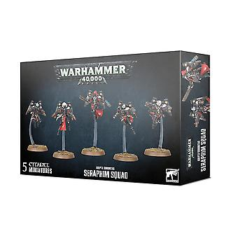 Taller de Juegos - Warhammer 40k - Adepta Sororitas: Escuadrón Serafín