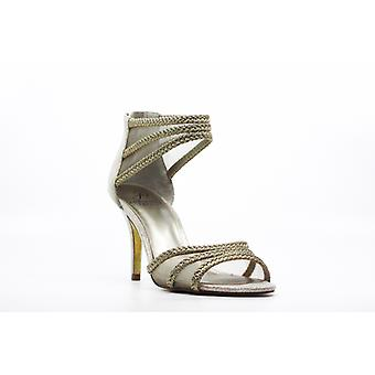 Adrianna Papell | Platino Metallic Dress Heels