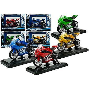 Spielzeug Motorrad mit Klängen 1:18 - übergeben Sie Ihre Farbe!