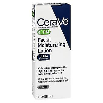 Lotion hydratante pour le visage Cerave Pm, 3 Oz