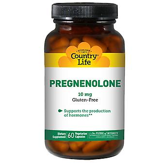 Country Life Pregnenolone, 10 MG, 60 Korkkia