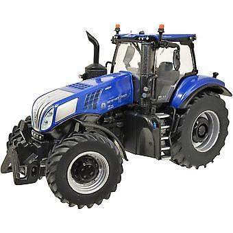Storbritannias New Holland T8.435 Blå Traktor 01:32 43216