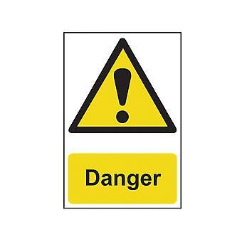 Scan Danger - PVC 200 x 300mm SCA1301